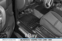 SMARTLINER Floor Mats 07-13 Silverado/Sierra 1500 / 07-14 2500/3500 Crew Cab