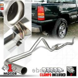 SS 3 Catback Exhaust System for 99-07 Silverado/Sierra 1500 Ext/Crew Short Bed
