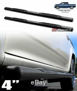 Sale For 2001-2014 Chevy Silverado/GMC Sierra Crew 4 Hammer Blk Side Step Bars