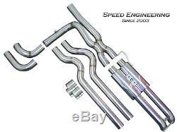 Silverado & Sierra True Dual Exhaust System 1999-2006 (Crew & Extended Cab)