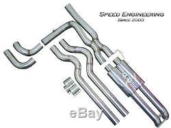 Speed Engineering Silverado Sierra True Dual Exhaust 99-06 Crew & Extended Cab