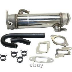 Stainless EGR Cooler Kit For 06-07 Chevy GMC Duramax Turbo Diesel 6.6L OHV