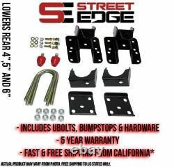 Street Edge 4 to 5 Drop Flip Kit for 99-06 Silverado/Sierra Crew Cab 1500 2WD