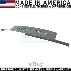 Suburban Blazer Yukon C1500 C2500 C3500 Molded Dash Skin Cover Cap Dark Grey
