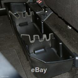 Topline For 2014-2018 Silverado/Sierra Crew Gearbox Underseat Storage Box -Black