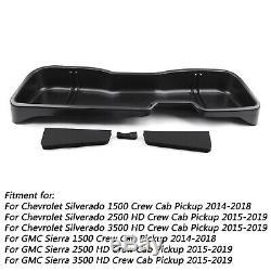 Under Seat Storage Box 09031 For Chevy Silverado 1500 Crew Cab GMC Sierra 14-18