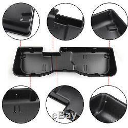 Under Seat Storage Box Black For 2007-2018 Chevy Silverado or Sierra CREW CAB US