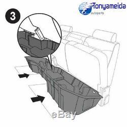 Underseat Storage Box Fit for 2014-2018 Chevrolet Silverado/Sierra 1500 Crew Cab