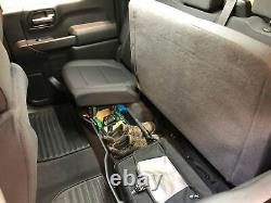 Underseat Storage Box fit Chevy Silverado Sierra 1500 2019-21 Crew Cab Only