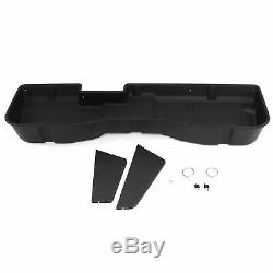 Underseat Storage Box fits Chevy Silverado 2007-18 Full Size Dividers Crew Cab