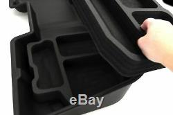 Underseat Storage Box fits Chevy Silverado 2007-2018 w Dlx Organizers Crew Cab