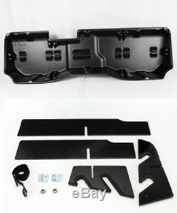 Underseat Storage Case Box for 14-18 Silverado 1500/15-19 2500HD/3500HD Crew Cab