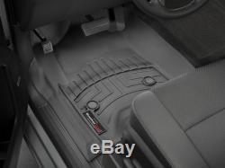 WeatherTech Floor Mat FloorLiner for Chevy Silverado/GMC Sierra Crew Cab Black