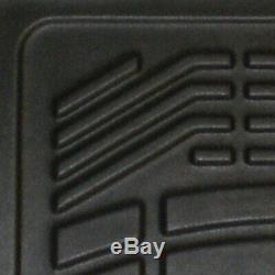 Westin SureFit Floor Liner FNT BLK for Escalade/Silverado/Suburban 15-3500 99-07