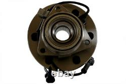 Wheel Hub Bearing Assembly Front Pair 2 for Silverado 1500 Tahoe 6 Lug with ABS