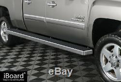 Wheel-to-Wheel 6 Side Nerf Bar Fit 01-13 Chevy Silverado/GMC Sierra Crew Cab
